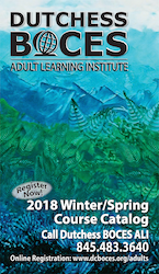 [PIC] Cover Of Dutchess BOCES Adult Learning Institute 2018 Spring Course Catalog