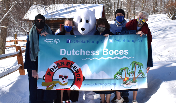 [PIC] The 2021 Dutchess BOCES Polar Plunge Team
