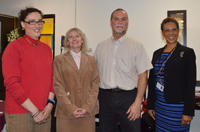 [PIC] Teacher Grant Recipient with Administrators