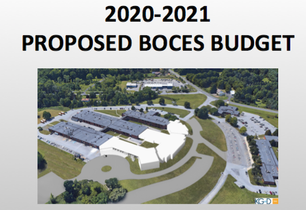 [PIC] Cover Page Of 2020-2021 Budget Proposal Power Point Presentation
