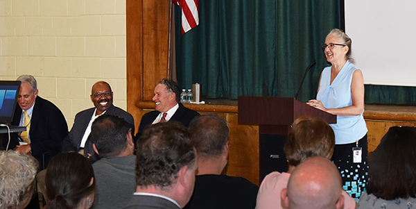 [PIC] School Business Official Matt Metzger, Dutchess BOCES Board President  Edward L. McCormick, District Superintendent Dr. Richard Hooley, Deputy Superintendent Cora Stempel