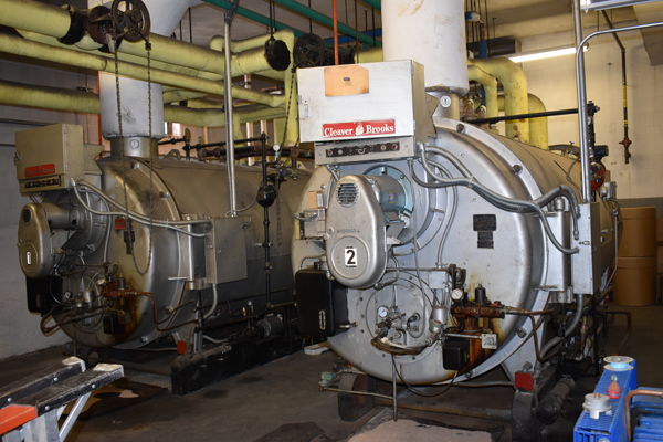 [PIC] Boilers at Salt Point Center Due For Replacement Under The Upcoming Energy Performance Project.