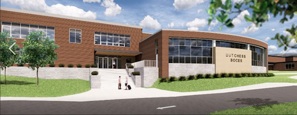 [PIC] BOCES Capital Project Rendering of New Building Entrance