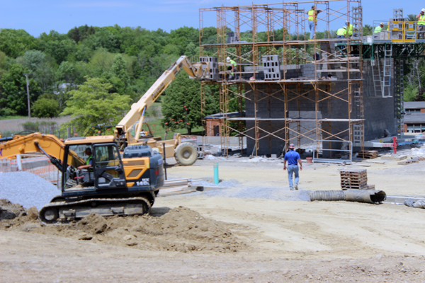 [PIC] Construction Crews Continue Site Work At BOCES Unified Campus