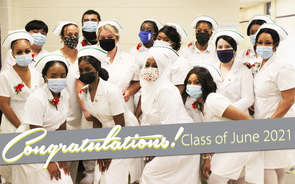 [PIC] Group Photo of The 2021 Dutchess BOCES School of Practical Nursing Graduating Class