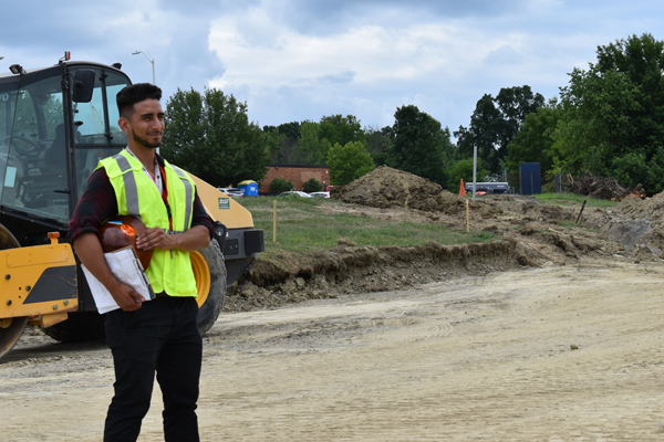 [PIC] Career And Technical Institute Alum Michael Mendoza Oversees Construction As Project Manager At BOCES Campus