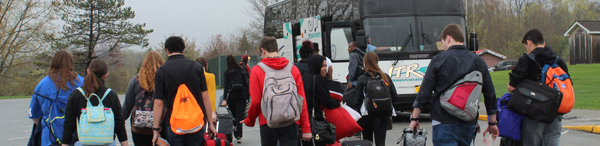 [PIC] CTI Students Board Bus For SkillsUSA Competitoon In Syracuse, NY
