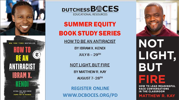 [PIC] Flyer For The Dutchess BOCES Summer Equity Book Study Series
