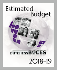 [PIC] Cover of Dutchess BOCES 2018-2019 Estimated Budget Book