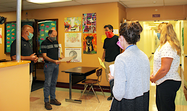 [PIC] BOCES Facilities Members Meet With Consulting Engineer and Alternative High School Staff