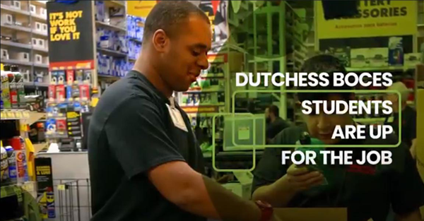 [PIC] Screen Capture From The Dutchess BOCES Work Based Learning Program Video