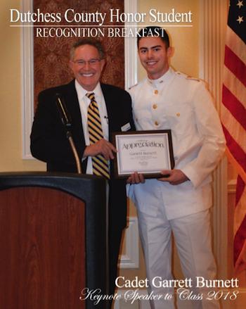 [PIC] District Superintendent Dr. Richard Hooley and Keynote Speaker Cadet Garrett Burnett