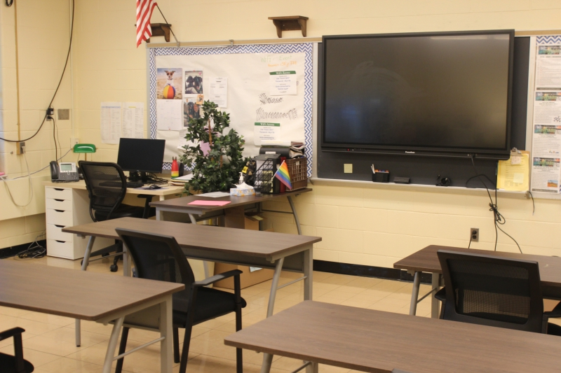 Photo of new classroom at ALI's Salt Point Center location