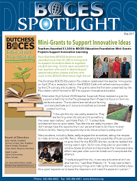[PIC] BOCES May 2017 Spotlight Cover